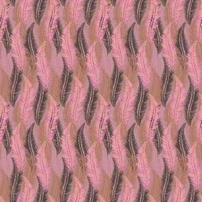 Feather Pattern Soft Pink