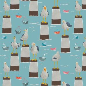sassy seagulls