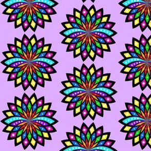 Lotus Mandala - Purple