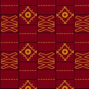 Moracco Faux stitch fabric