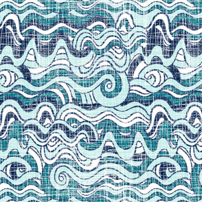 Wavy waves
