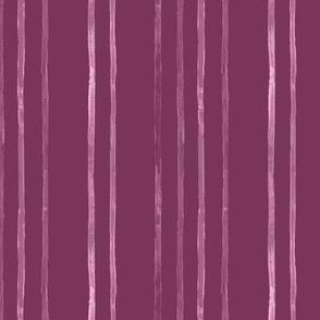 Take Flight Watercolor Stripe in Raspberry on Raspberry vertical