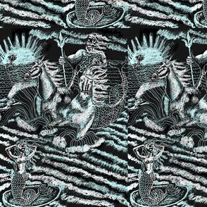 Neptunes Horses-blue