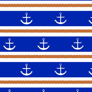 stripes and anchors