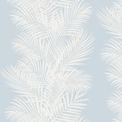 Frond Cream Stripe Ice Blue 14 inch