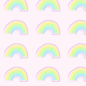 Pastel rainbows