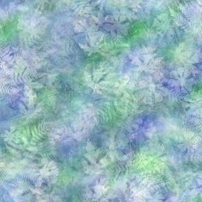 Blue Green Soft Sunprint Texture