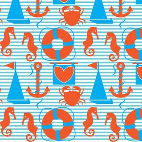 Crabby Days Large Print
