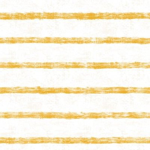 Nautical Goldenrod Burlap stripes 8""