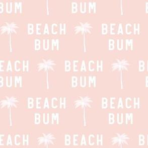 beach bum - soft pink - LAD19