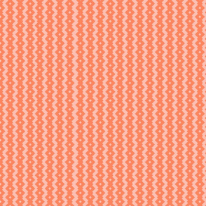 Living Coral Diamond Stripes