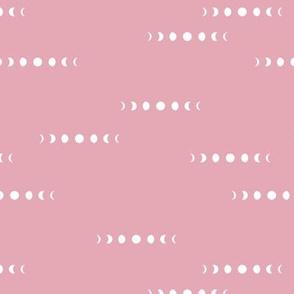 Moon phase constellation galaxy universe night winter girls summer pink