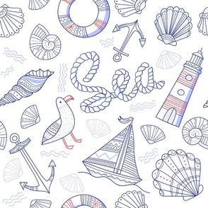 nautical pattern