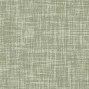 Sage green linen look