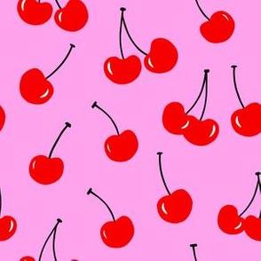 Reddest Cherry // Bubblegum Pink