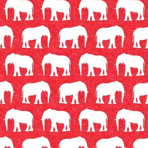 Elephants on red - political party - election - Republican Party - LAD19