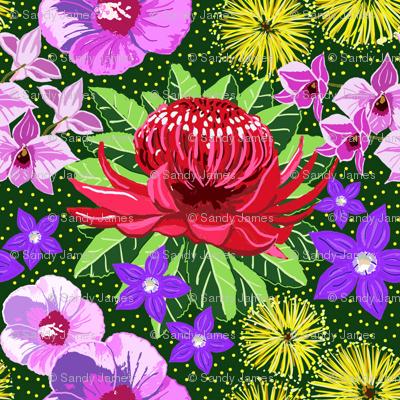 Aussie flora 4x4