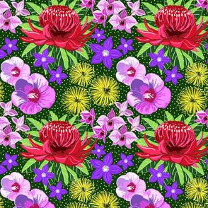 Aussie flora 10x10