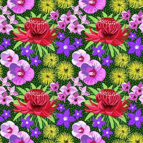 Aussie flora 9x9