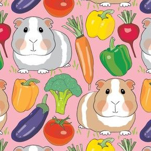 guinea-pigs-and-veggies-on-pink