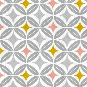 Westwood - Mid Century Modern Geometric - Grey Regular Scale