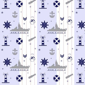 In The Navy Nautical Pattern