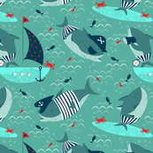Nautical sharks