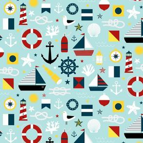 Ahoy! Regatta Colors - Small