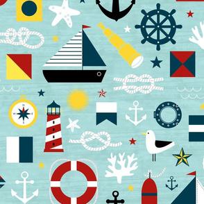 Ahoy! Regatta Colors - Large