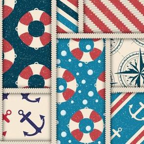 Nautical patchwork