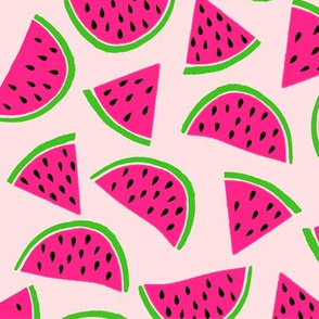 Watermelon // Dusty Rose