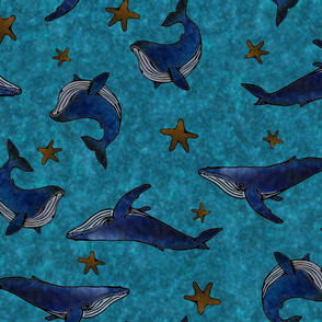 Starry Whales
