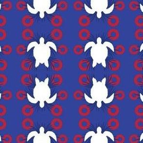 Fishman Turtle Red Circle Donut-02