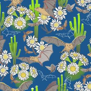 Night Pollinators Blue