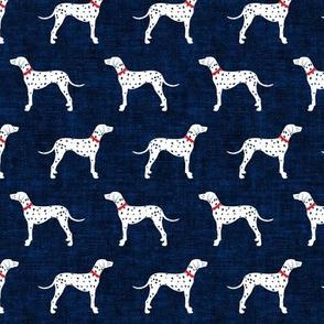 Dalmatians - navy - LAD19