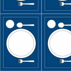 Montessori Placemat-Blue