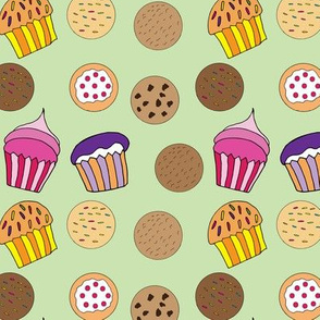 Cookies and Cupcakes -small pattern