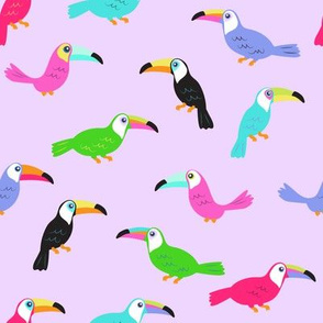 Toucans // Purple Power