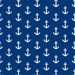 Ahoy Anchors // Navy