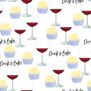 Drink and Bake (pattern)