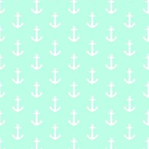 Ahoy Anchors // Mint