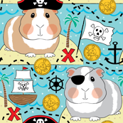 jumbo pirate guinea pigs