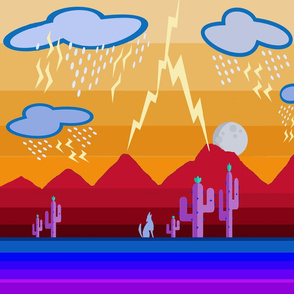 April Showers in the Desert - Design Challenge