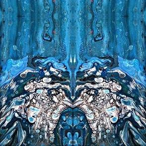 Blue flow-ed