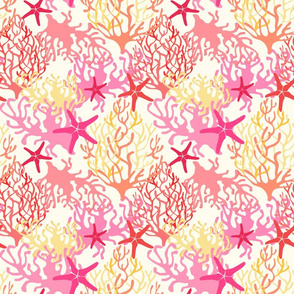 Coral and Starfish