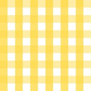 Lemon Gingham  LARGE