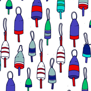 Red, White and Buoys
