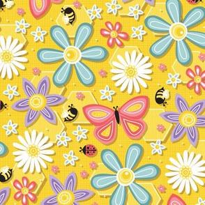 Backyard Bug Bouquet