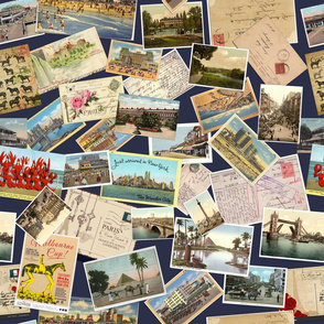Postcards from the whirrled
