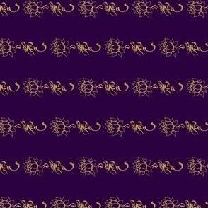 Loving_Kindness-Metta-Gold on Cobalt-Horizontal